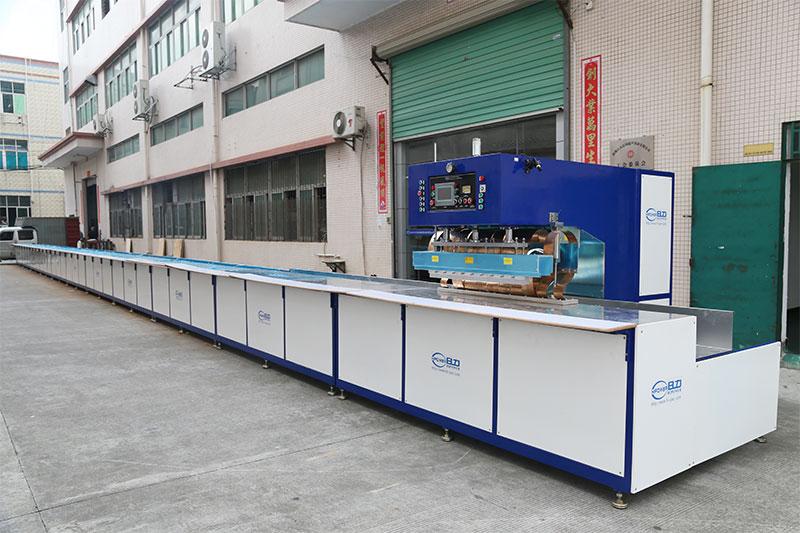 轨道式膜材高频焊接机
