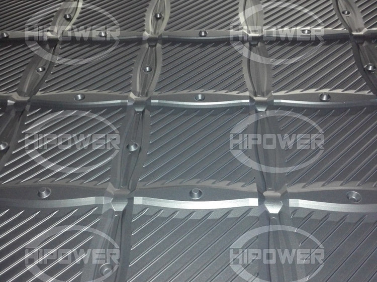 龙门式大型高周波冷却塔PVC填料焊接机 50KW