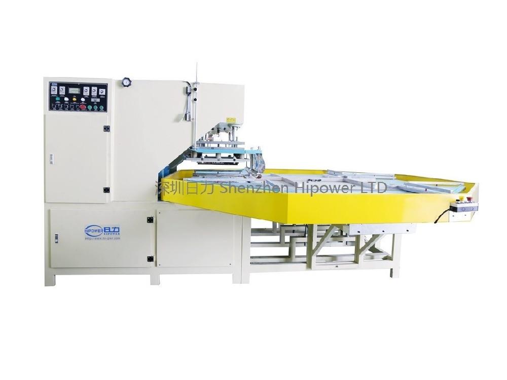 自动转盘式防滑垫高周波熔接机