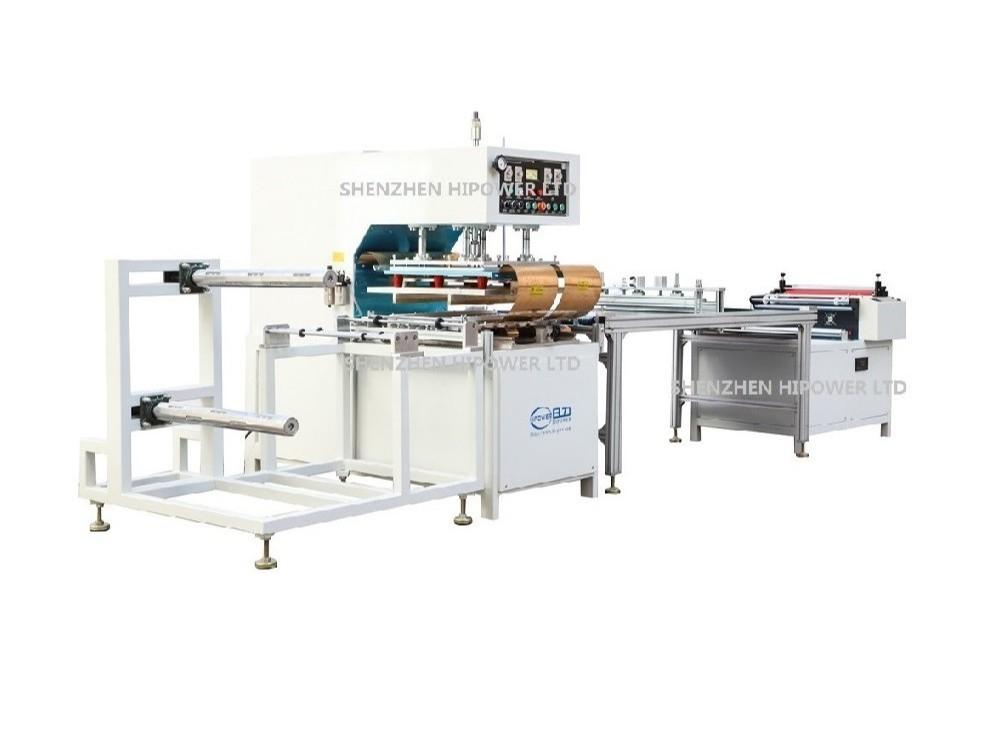 深圳日力石墨烯电热膜高频焊接机 PVC电热地膜高频焊接机
