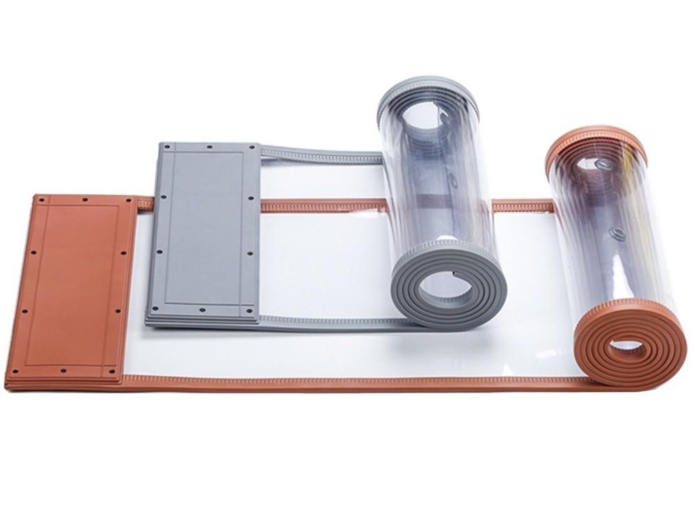 磁性门帘焊接