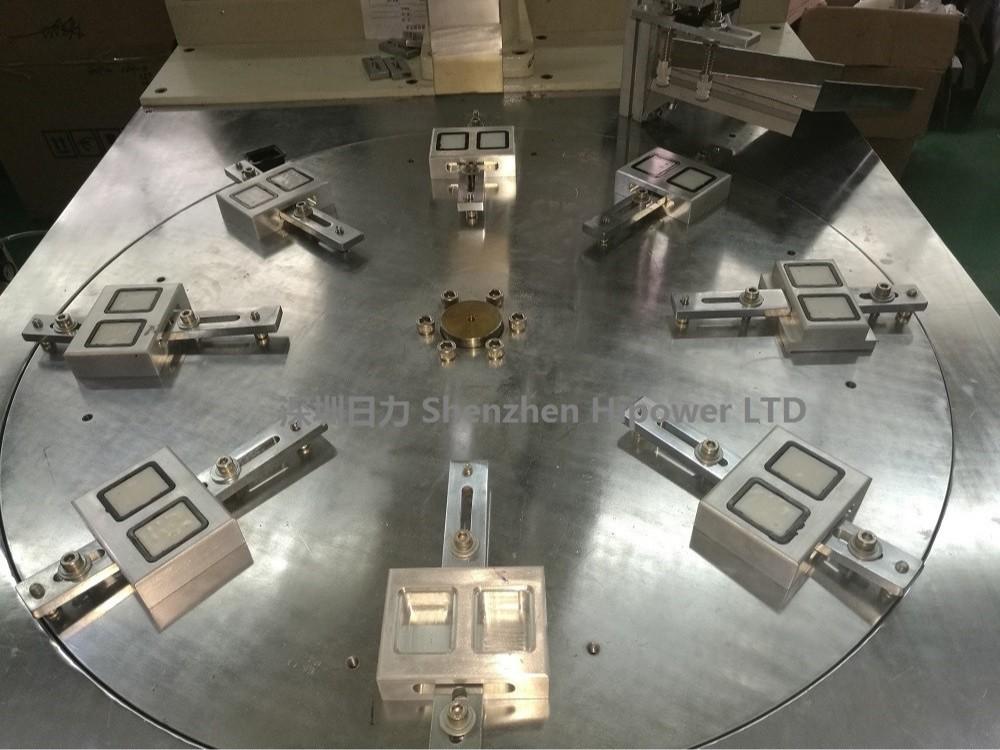 HC-2615D-6AC 多工位自动转盘式超声波焊接机(带机械手)