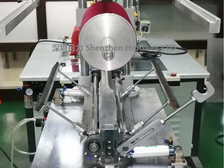 半自动超声波圆筒成型机