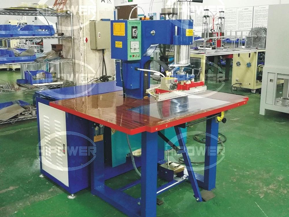 HR-5000TAD 单头脚踏式高周波熔接机