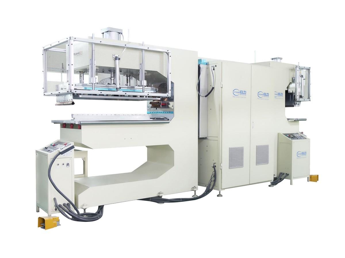 双头式高周波输送带焊接机/工业皮带热合机