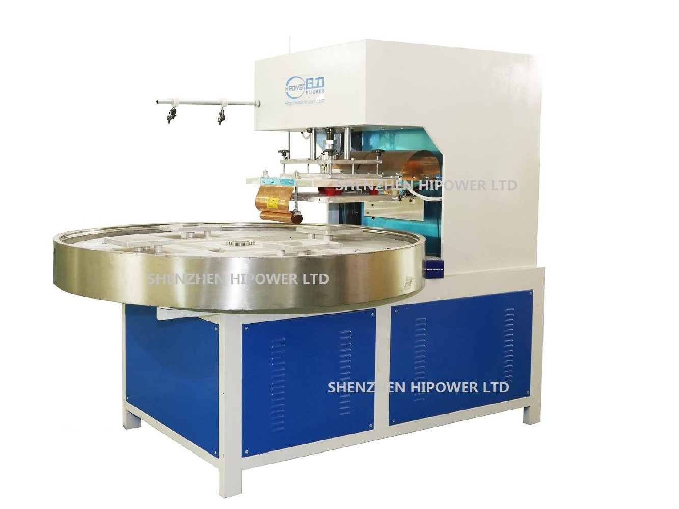 自动转盘式高周波吸塑包装机
