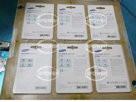 自动转盘式高周波手机内存卡包装机