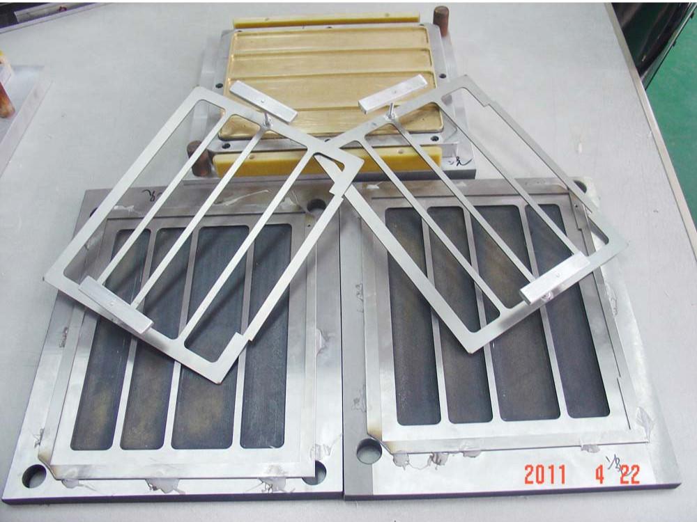12KW自动滑台式PVC皮套高周波同步熔断机
