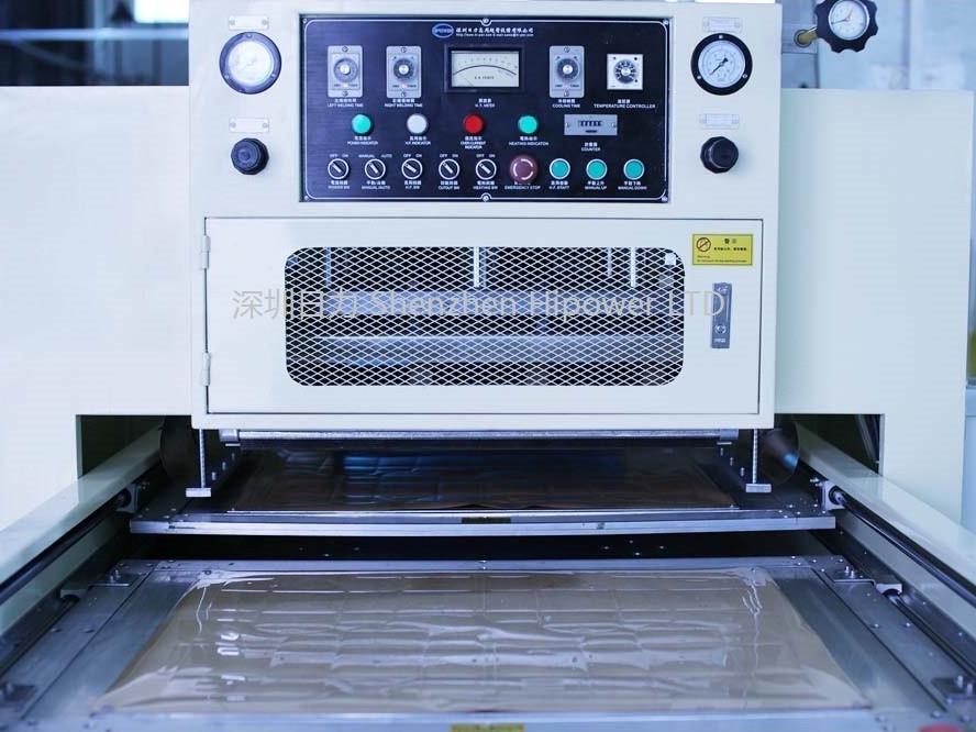 上下滑台式高周波熔接+模切一体机
